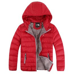 Wholesale Boys Winter Spring Clothes Baby Boys Cotton Warn Jacket Kids Long sleeve hooded Jackets for boys years children Coat clothing