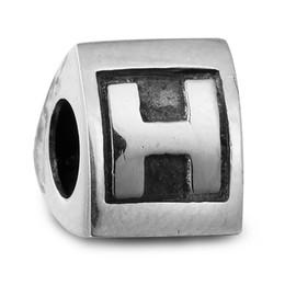 Pandora Alphabet Charm H Silver