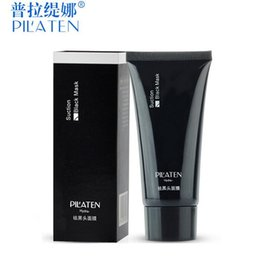 Wholesale PILATEN blackhead remover Tearing style Deep Cleansing purifying peel off the Black head acne treatment black mud face mask