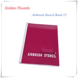Wholesale 1 Book With Designs Airbrush Template Tattoo Stencils Art DragonDesign Patterns Set Booklet
