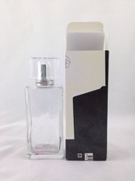 Wholesale 100ml empty glass bottle with spray and cap PROMOTION
