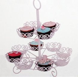 Wholesale Wedding Cake Rack Party Cup Cake Stand new arrival PC B13