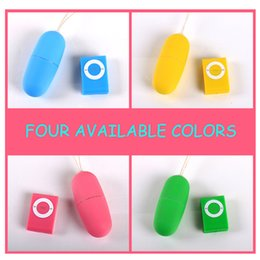 Wholesale Sex Products Vibrators Female Masturbation Fun MP3 Wireless Remote Control Vibration Tiaodan Vibrating Egg H14287