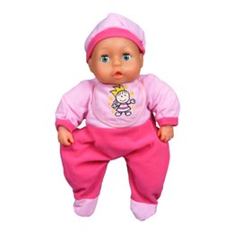 Wholesale Retail cm Movable Eyes Reborn Doll Baby Toys For Girl Gifts Silicone Reborn Dolls Babies Bebe Reborn Movable Eye Sleeping Appease Kids Toy