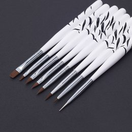 Wholesale Hot Sales New Nail Art Design Brushes Dotting Painting Pen Set Acrylic Drawing Liner Tools T247