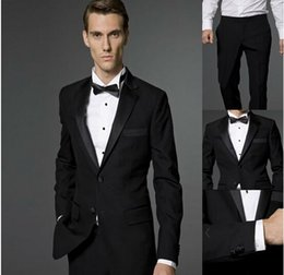 Wholesale 2014 New cheap man suit jacket pants Brand Suits Blazer men s Sequined evening suit jackets Slim Custom Fit Tuxedo Wedding dress