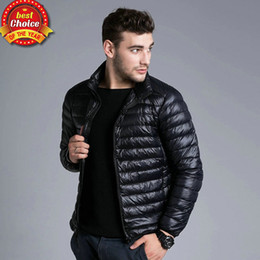 Down Feather Jacket Men - JacketIn
