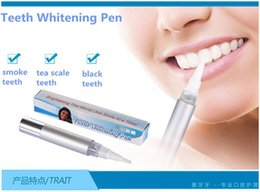 Wholesale 20pc profesionalTeeth Whitening Pen Soft Tooth Gel Product Silvery White Bleach Stain Eraser g Whitening Tooth Care Tool Whitening Kit