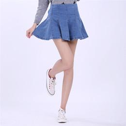Discount Hot Women Denim Mini Skirts | 2017 Hot Women Denim Mini ...