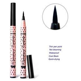 Wholesale 1 HOT Women Lady Beauty Makeup Black Eyeliner Waterproof Liquid Eye Liner Pencil Pen Make up Cosmetic Cute Tool