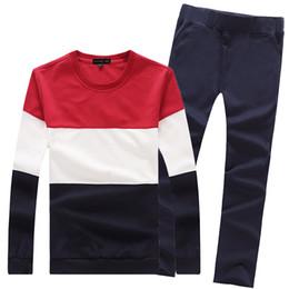 Wholesale WholesaleNew Style HOT New spring men s sports suit sweatshirt men s casual jacket and pants sportwear sports set for men casual
