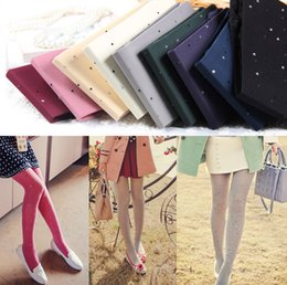 Wholesale Shiny Pantyhose Glitter Stockings Womens Tights with Diamonds On of Colors
