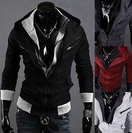 Wholesale 2016 New Men s Slim Top Designed Casual Jacket For Men Winter Outdoors Overcoat Hoodies Size Colors