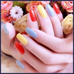 Wholesale 2015 new hot Hot Sale Top Fashion Nails Gel Professional Long lastiong Shellac LED UV Gel Lacquer