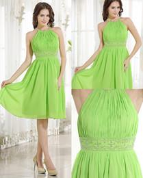 Apple Green Cocktail Dress