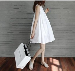 Wholesale Summer dresses for pregnant women maternity summer dress cotton clothes for pregnant women clothing
