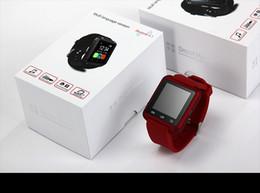 U8 Android Bluetooth Смарт Часы наручные часы для телефона я 4 4S 5 5S S5 SmartWatch Электронная +2014 Новые С удаленных 1шт Contro