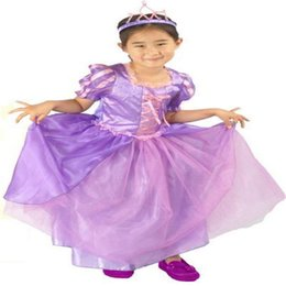 Wholesale Free shpping New arrival princess dress Fantasy Carnival costumes retail halloween party dress for kids CXCC