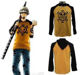 Wholesale New Anime ONE PIECE Trafalgar Law Cosplay Hoodie Death Surgeon Clothes Unisex