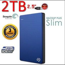 Новый 2016 Seagate Backup Plus новая фарсом 2TB HD Экстерно портативный внешний жесткий диск USB 3.0 HDD 2tb бесплатная доставка DHL