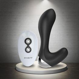 Wholesale New Design M Wireless Remote Control Prostate Massager Modes Vibration Anal G Spot Massager Prostata Vibrator Male Masturbation