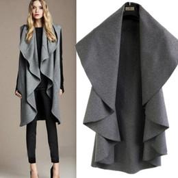 Discount Ladies Grey Wool Coat | 2017 Ladies Long Wool Coat Grey