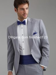 Discount Light Gray Suit Sale | 2017 Tuxedos Light Gray Suit For