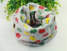 Wholesale 2015 cotton star fish bone anchors flag bear grid boat dog cat dots fawn glass design baby scarf kids collar