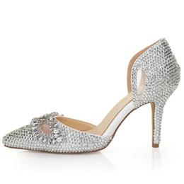 Discount Silver 8cm Heels  2017 Silver Sandal Heels 8cm on Sale