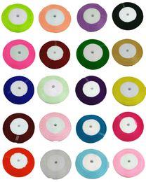 Wholesale 10PCS Yards quot Organza Sheer Ribbon Craft Bow Wedding Supply Decor Colors