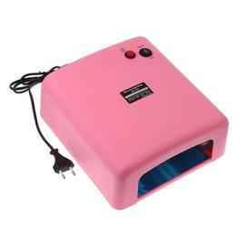 Wholesale Professional Nail Gel Lamp w EU Plug UV Lamp v Gel Curing Nail Art Light Nail Dryer US DHL Free HM364