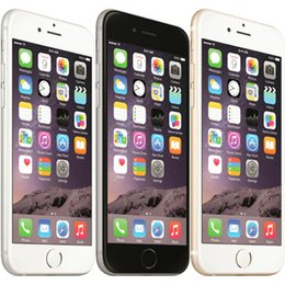 iPhone original da Apple 6 celular desbloqueado 4,7 polegadas de 16GB / 64GB / 128GB A8 IOS 8.0 4G FDD Suporte Fingerprint Telefone Recuperado