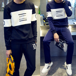 Wholesale New Arrival Tracksuit for Men Casual Spring Autumn Winter Letter Print Pant Men s Sports Clothing Sets Sweat Suits