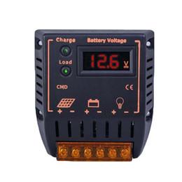 Panneau solaire Batterie S5Q 10A LED Règle 12V / 24V de charge solaire Auto TR Contrôleurs AAAFJD