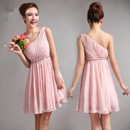 pink one shoulder dress | ivo hoogveld