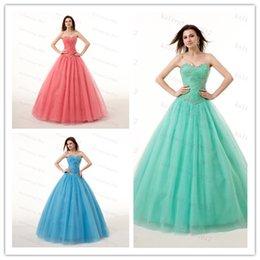 48-часовая доставка На складе Специальный Платья Милая шнуровке платья выпускного вечера 2015 с кристаллами Размер шариков 2-14