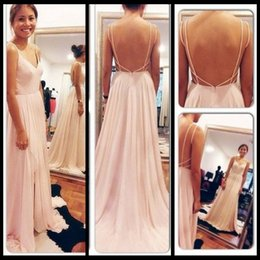 Wholesale 2014 Latest Fashion Sexy Elegant V Neck Tank Sleeveless Best Selling Prom Dress