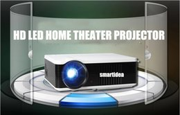 Discount cheapest tv projectors Wholesale-Cheapest !! Native 800x600pixels 3000lumens 3D LED LCD Digital Projector Multimedia TV Proyector Beam with 3000:1 Contrast Ratio