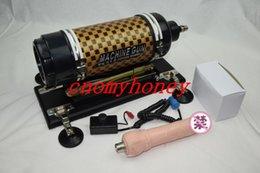 Wholesale Powerful Cannon Machine Gun Adjustable Sex Machine For Female Gay Masturbation Machine Love Climax Machine With Dildo Power sex Toys
