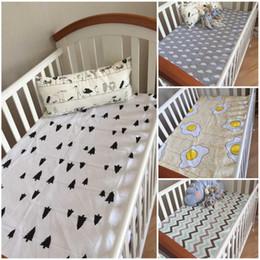Wholesale 1pcs newborn bed sheet blankets x150cm baby bedding cotton set for newborn super soft crib cheap linen cot boy girl