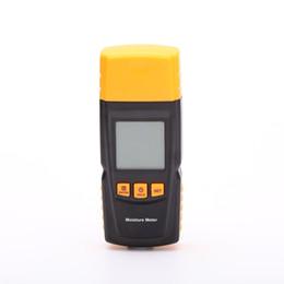 Акций США! Портативный измеритель влажности Вуд ЖК-цифровой Измеритель влажности влажности тестер для измерения влажности и температуры