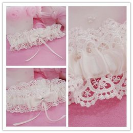 Wholesale Hot Sales Sexy lingerie Lace Bridal Garters High Quality Stunning Bow Wedding Leg Garters Wedding Accessories
