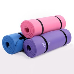 Wholesale Brand New All Purpose Inch Extra Thick High Density Anti Tear Exercise Yoga Mat with Carrying Strap