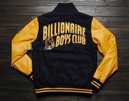 Wholesale BILLIONAIRE BOYS CLUB JACKET ORIGINAL street retro jacketbaseball uniform jacket BBC dgk bbc billionaire boys club jacket