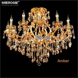 Magnificent Chandelier Online Shopping shop for all crystal chandelier lighting with 40 mm crystal balls icicles get free shipping at your online home decor outlet store 13 Light Maria Theresa Crystal Chandelier Light Fixture Cognac Clear Amber Led Crystal Lustre Lamp For