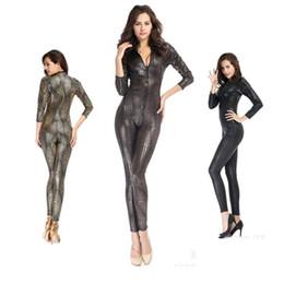 HotSexy Zentai Mulheres Nightclub Costumes Cobra Imprimir Cosplay selvagens Elasticidade Mulheres Bodysuits Stage Show Mitos Legends Senhora Tentação