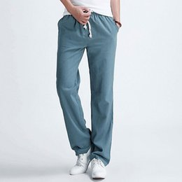 Discount Stretch Linen Pants | 2017 Stretch Linen Pants on Sale at ...