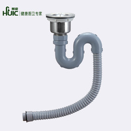 hui porcelain sink into the water pipes under the kitchen sink accessories single deodorant pest farm sink under the water - Kitchen Sink Water Lines