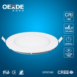 2017 design control panel 2016 Factory direct 85-265V Led panel Lights Hot Ultra Thin Design 9W 12W 15W 18W 21W LED Surface Ceiling Recessed Grid Downlight   Round