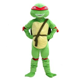 Wholesale Teenage Mutant Ninja Turtles Mascot costume Cartoon Character Costumes Party Dress Adult Size